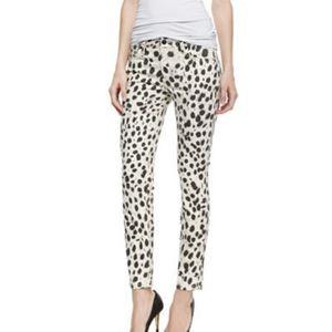 NWOT Joes Skinny Ankle Mid Rise Cheetah Jeans